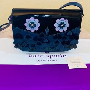 Kate Spade Medium Flap Nightcap Owl Crossbody